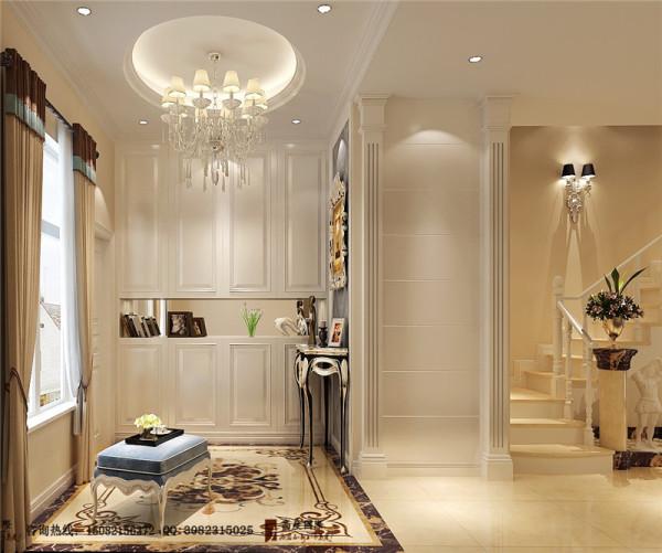 亲水湾门厅细节效果图-成都高度国际装饰公司