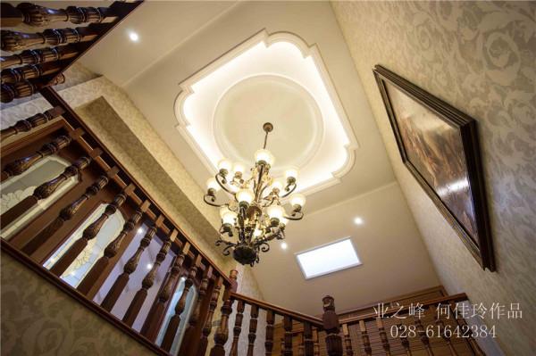 成都别墅装修——楼梯效果
