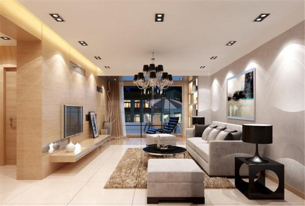 本案例为典型的三居室户型,在考虑到有效利用空间结构功能分区方面,对格局做了局部调整,使其更加合理生动。
