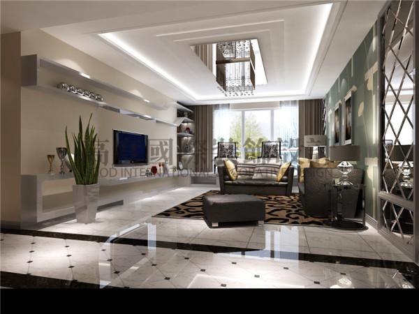 都高度国际装饰设计-客厅