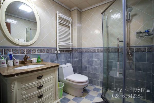 成都别墅装修—卫生间实景图