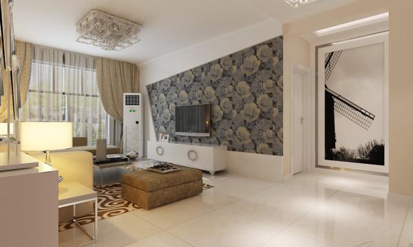 客厅的整体设计效果、走廊吊顶