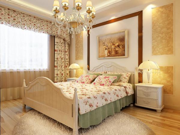 欧式奢华田园风格凭借着其鲜明的特点和雍容华贵的装饰效果,彰显业主的生活品味和对田园生活那种清新自然的向往。此案例为典型的欧式奢华田园风
