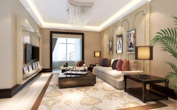 整个设计以简洁的表现形式来满足业主对空间环境的需求。从室内墙地面及顶面设计到家具陈设, 乃至灯具器皿等均以简洁的造型、纯洁的质地、精细的工艺为其特征。
