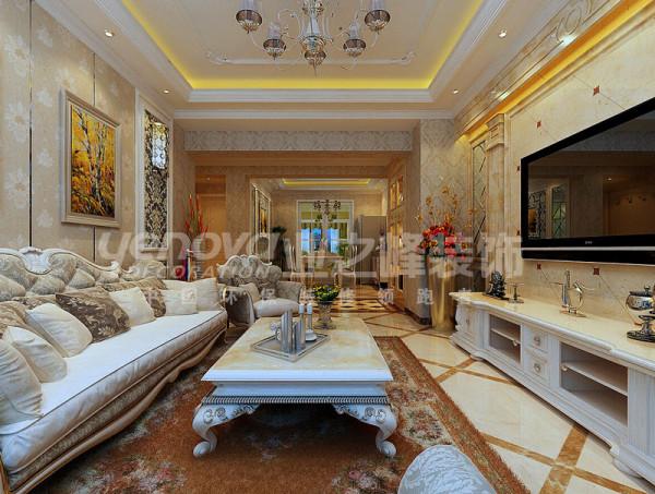 欧式装修风格客厅效果图