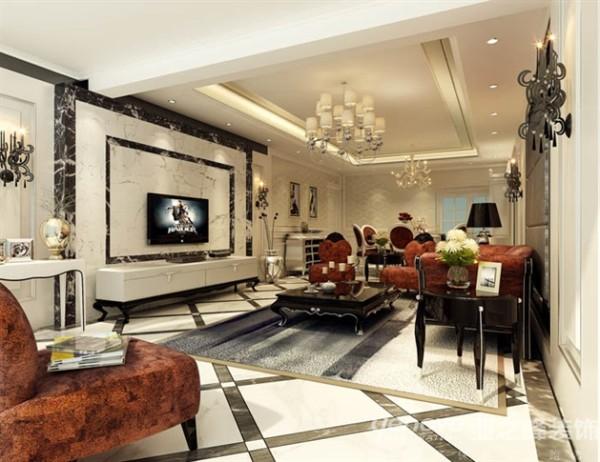 案的设计风格为新古典风格,业主是一对40多岁的夫妇,比较喜欢沉稳大气的感觉,个人比较喜欢卧室背景墙天空的设计感觉,这个是儿童房