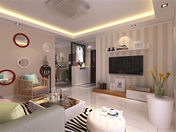 以亮木色家具为主,搭配少量五颜六色的家具,给人大气,眼前一亮又不失温暖舒适的感觉,特别彰显业主品味。