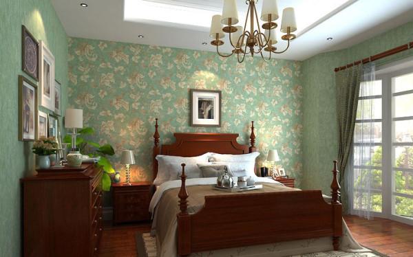 卧室图片来自上海实创-装修设计效果图在106图片