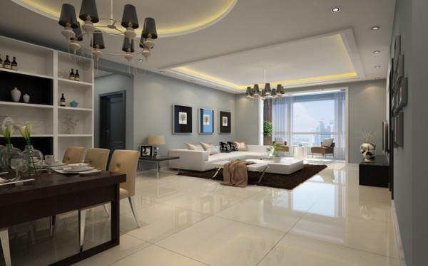设计理念:整体风格为简约风,所以在造型和家具商都没有过于啰嗦的设计