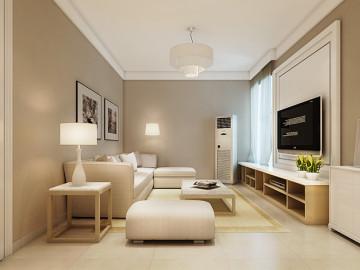 锦艺国际华都两室两厅装修案例