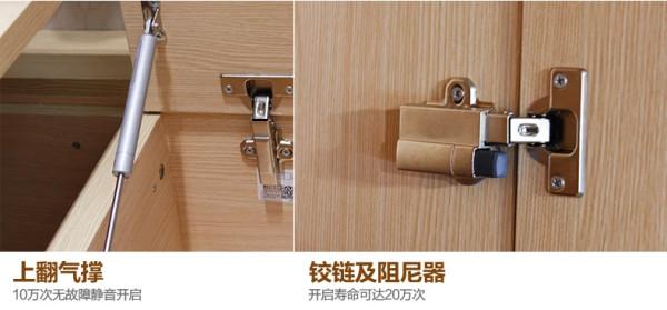 五金配件均使用国际大品牌。附件可保3年以上保修。