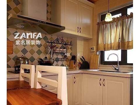 厨房做成开放式的
