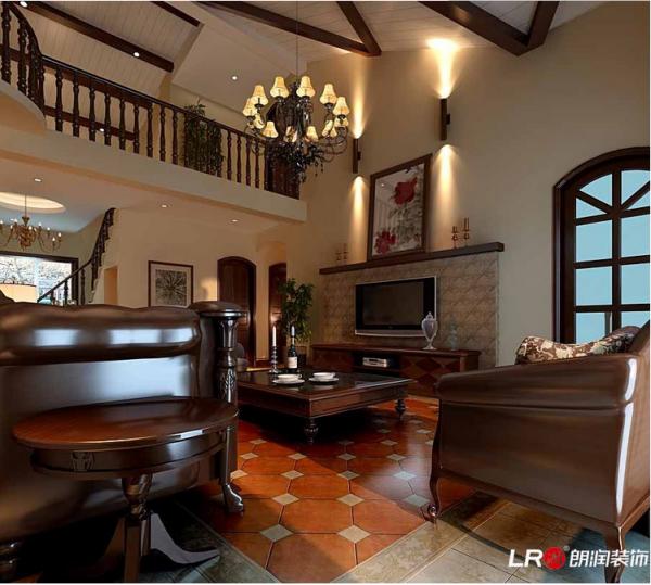 典型美式家具搭配,非常富有美感!