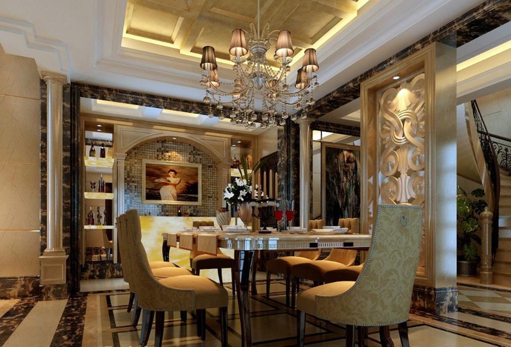 别墅 古典欧式 全套模式 实创装饰 80后 餐厅图片来自传承正能量在280图片