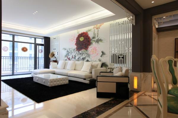 在我国文化风靡全球的如今年代,中式元素与现代原料的奇妙兼柔,明清家具、窗棂、布艺床品相互辉映,再现了移步变景的精妙小品。