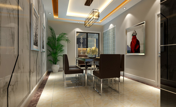 以简洁明快的设计风格为主调,简洁和实用是现代简约风格的基本特点。