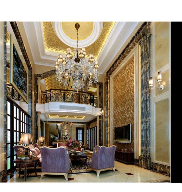 欧式风格讲究造型,在创作中既体现统一的时代风格,又十分重视表现自己的艺术个性,体现古典情怀.本案设计在传统欧式设计的基础上融入现代化设计的新意,体现出古典欧式家居的富丽和华贵.