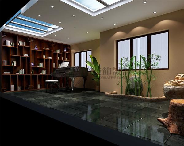华侨城东岸书房户型图效果细节图 成都高度国际装饰设计