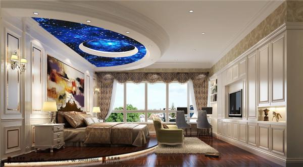 清水湾三层主卧细节效果图-成都高度国际装饰