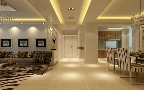 过道的空间设计通常非常含蓄,往往能达到以少胜多、以简胜繁的效果。