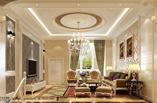 清水湾客厅细节效果图-成都高度国际装饰