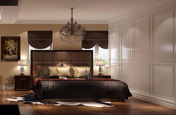 汇锦城卧室细节效果图-成都高度国际装饰