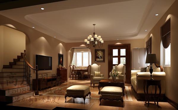 汇锦城客厅细节效果图-成都高度国际装饰