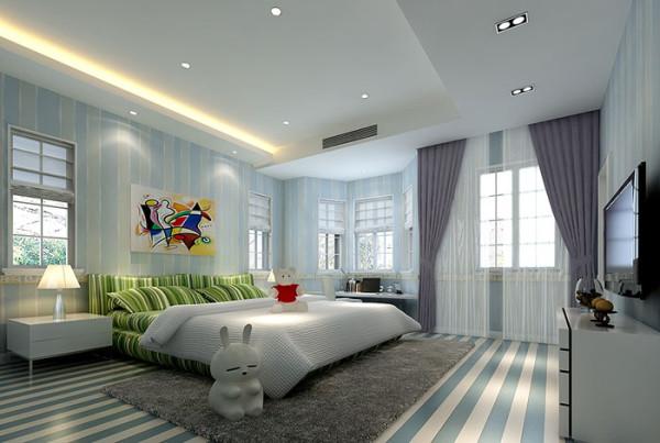 清爽的卧室装修