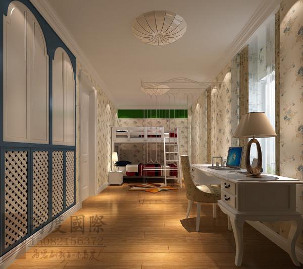 沙河锦庭儿童房细节效果图-×成都高度国际装饰