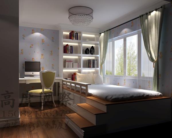 汇锦城儿童房细节效果图-成都高度国际装饰