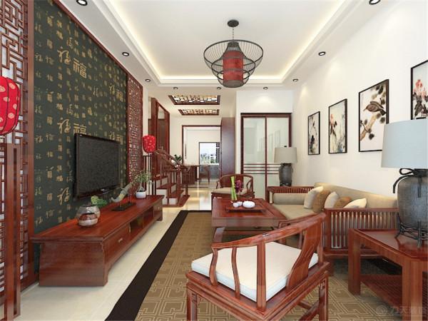 该户户型是迎东温泉花园两室一厅一厨一卫103平米。还户户型的设计风格为中式风格,所以在整体的设计上把握整体的中式元素。