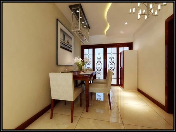 厨房的空间比较狭长,所以在厨房门和瓷砖和橱柜柜板颜色的选择上更多的考虑如何增加视觉空间。