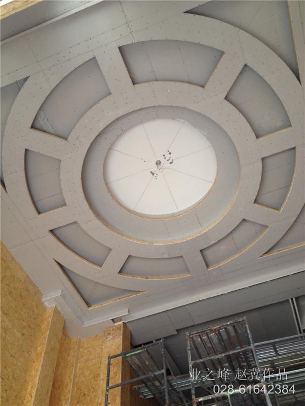 客厅吊顶基础施工