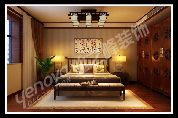 中式风格的主卧室,不仅大气奢华,更多的是舒适,仿佛为主人编织着一个明快、美好的梦想。