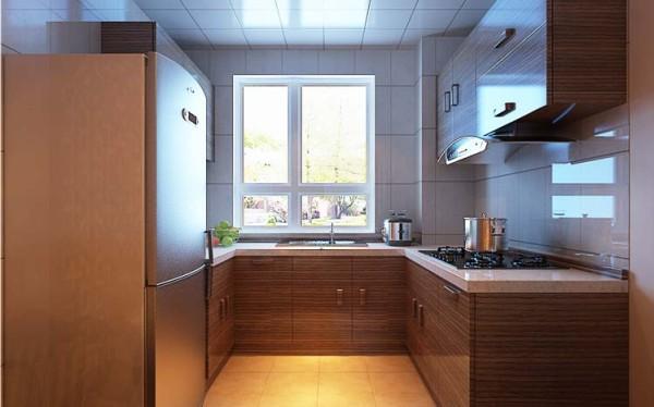开放式厨房可以显示出一种比较大气的视觉效果,使原本小的空间看起来变大了,整个房子的亮度也增强了。 另外,相同面积的厨房,因为少了隔断,所以装修上更省钱、美观。