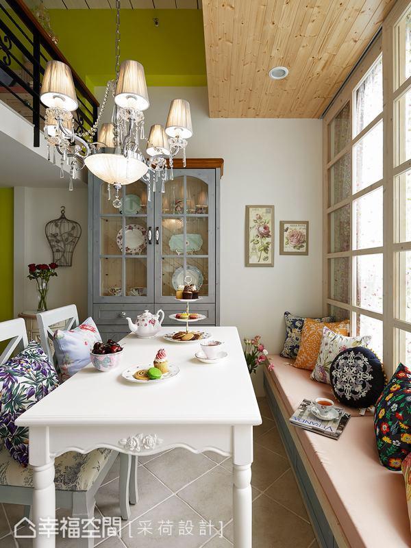 幸福空间 高端设计 台湾设计师 美式风格 餐厅图片来自幸福空间在26平体验美式乡村的满满精彩的分享