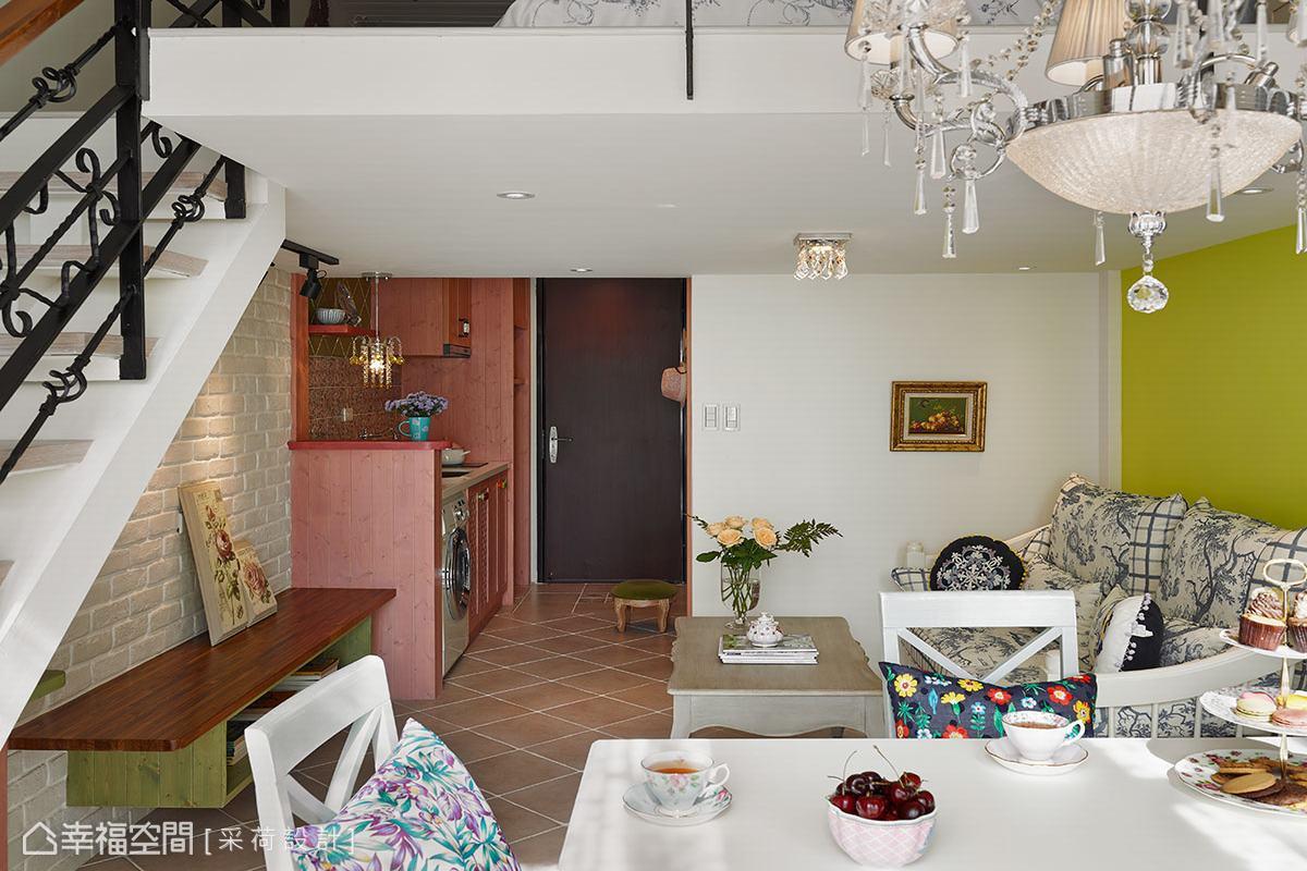 幸福空间 高端设计 台湾设计师 美式风格 客厅图片来自幸福空间在26平体验美式乡村的满满精彩的分享