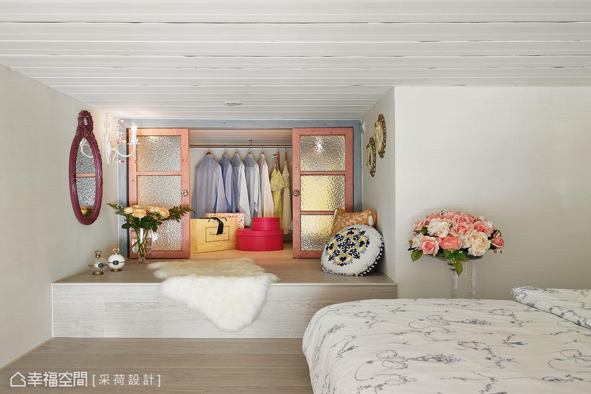 幸福空间 高端设计 台湾设计师 美式风格 卧室图片来自幸福空间在26平体验美式乡村的满满精彩的分享