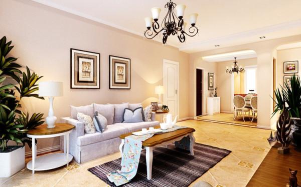 在设计手法上多选用具有地中海风格的装饰元素,注重宽敞、舒适,同时又注重功能型的分割。