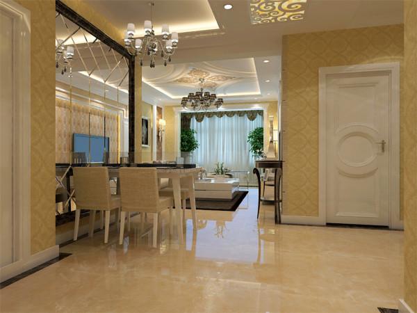 餐厅图片来自沈阳林凤装饰装修公司在梦想天城--三室两厅一厨一卫的