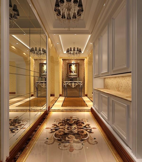 欧式设计风格会给人繁琐奢华的印象。在理念当中,表面上的化繁为简,其实却代表了某种更为含蓄的奢华。