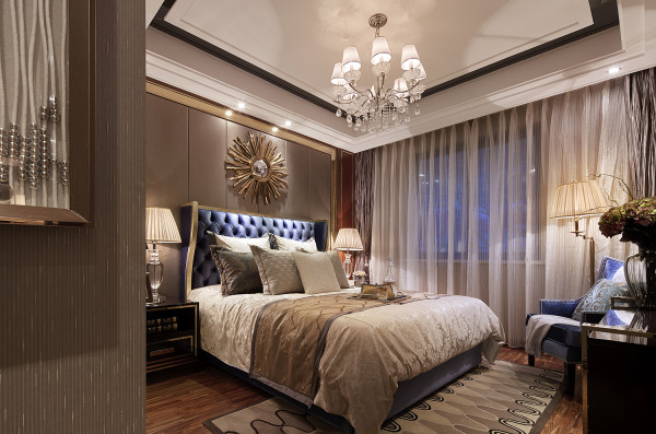 背景墙 房间 家居 起居室 设计 卧室 卧室装修 现代 装修 600_397图片