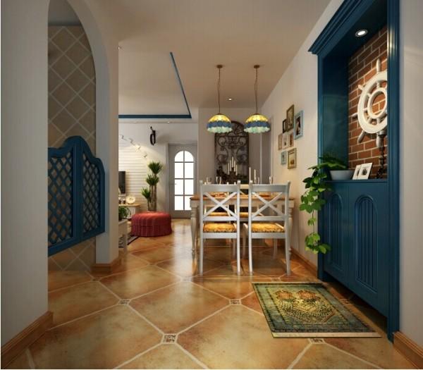 方圆创世-90平-两室两厅-餐厅
