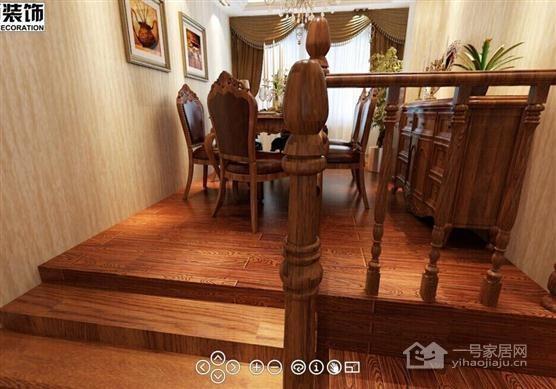 蚌埠一号家居网 美式的三房二厅二卫背景墙装修效果图