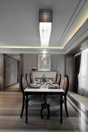 正商铂钻 超凡装饰 新古典 高富帅 白富美 餐厅图片来自沪上名家装饰在经典元素-正商铂钻-新古典的分享