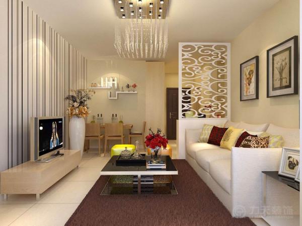 本案为华城领秀两室两厅一厨一卫91㎡的户型 。这次的设计风格定义为现代简约风格