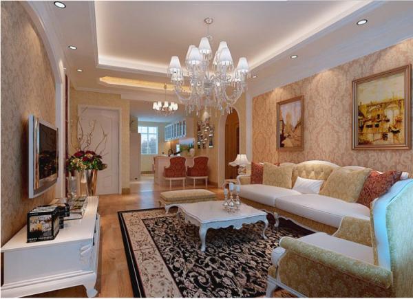 成都绿地中心468公馆-三居室-102平米-餐厅装修设计