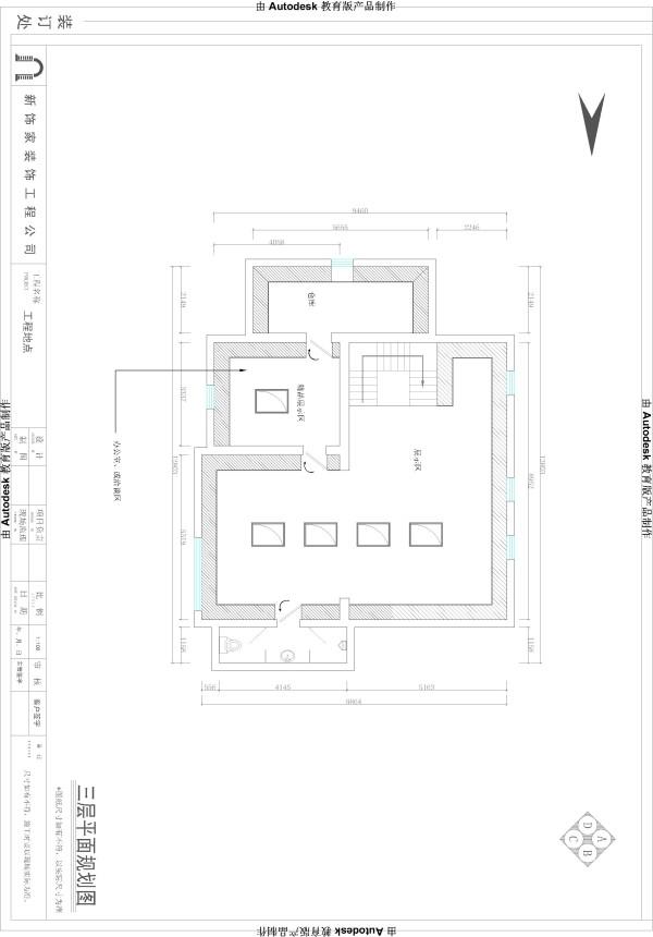 三层的平面设计图