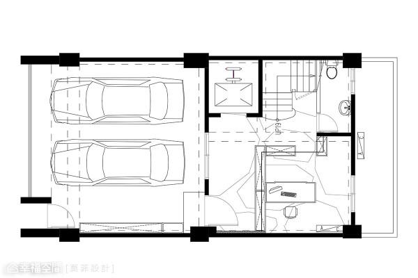 1楼平面图