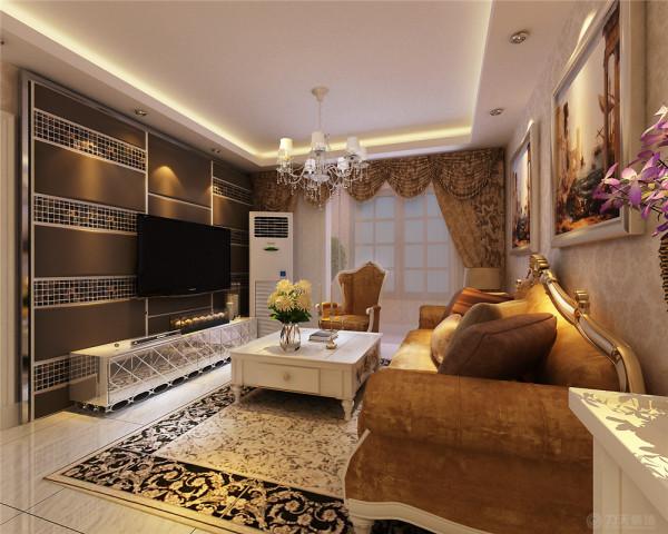 这套住宅的业主是一对小两口准备的婚房,我通过和客户的沟通决定采用欧式新古典风格的设计,新古典风格融入了古典欧式的雍容华贵和现代元素的相结合,更适合年轻人居住,个人一种舒适,大气、华贵的感觉。